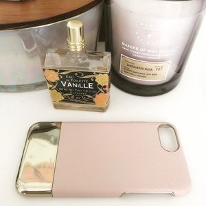 PINK & GOLD IPHONE 8 CASE
